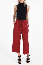 3.1 Phillip Lim Women S Wide Leg Cotton Culottes Boutique1 Red
