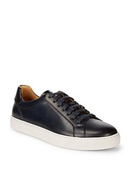 Saks Fifth Avenue By Magnanni Leather Sneakers Navy