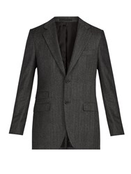 Stella Mccartney Herringbone Wool Jacket Grey