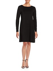 Bcbgmaxazria Casual Knit Shift Dress Black