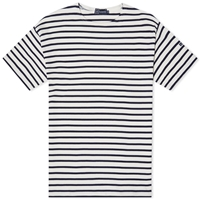Armor Lux 1524 Loctudy Tee Natural And Navy