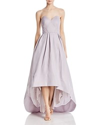 Bariano High Low Gown Lilac Gray