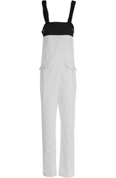 Damir Doma Perforated Cotton Overalls