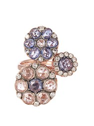 Selim Mouzannar Diamond Sapphire And Pink Gold Beirut Ring
