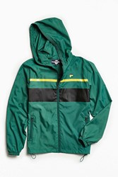 Fila Colorblocked Windbreaker Jacket Lime