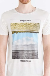 Project Social T Sunshine Darkness Tee White