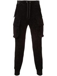 Unravel Project Tapered Track Pants Black
