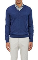 Isaia Cashmere Sweater Blue