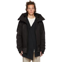 The Viridi Anne Black Down 'Ripvanwinkle' Coat