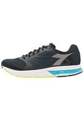 Diadora Kuruka Neutral Running Shoes Black Blue