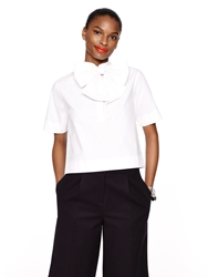Kate Spade Madison Ave. Collection Keely Top Fresh White