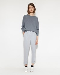 Margaret Howell Pleat Pocket Trouser Ash Blue