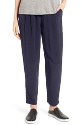 Eileen Fisher Women's Tapered Trousers Midnight