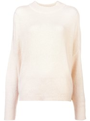 Dusan Loose Fitted Sweater Nude And Neutrals