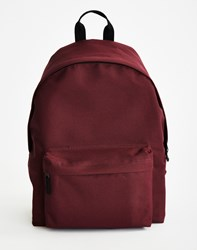 The Idle Man Backpack Burgundy