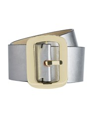 Biba Wide Waist Belt Metallic