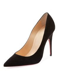 Christian Louboutin Alminette Red Sole Pumps Black