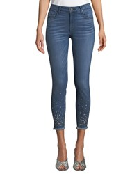 Parker Smith Ava Skinny Repaired Ankle Jeans Medium Blue