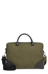 Ted Baker London Dayof Briefcase Green Olive