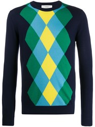 Pringle Of Scotland Argyle Intarsia Jumper 60