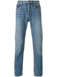 Helmut Lang Tapered Jeans Blue