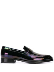 Givenchy Iridescent Effect Loafers Black