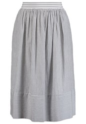 Noa Noa Beach Aline Skirt Asphalt Dark Gray