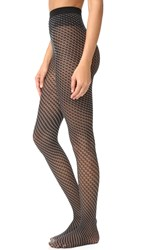 Wolford Cilou Tights Black White