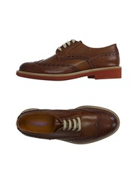 Thompson Footwear Lace Up Shoes Men Brown