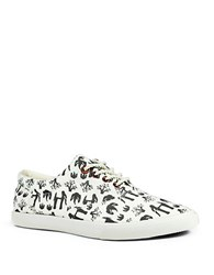 Bucketfeet Nature Canvas Lace Up Sneakers Grey