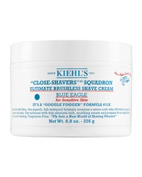 Close Shavers' Squadron Ultimate Brushless Shave Cream For Sensitive Skin Blue Eagle 8.0 Oz. Kiehl's Since 1851