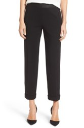 Bailey 44 Corporate Crop Stretch Ponte Pant Black