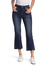 Habitual Palo High Rise Crop Flare Jeans Candleberry
