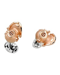 Deakin And Francis Diving Helmet Cuff Links