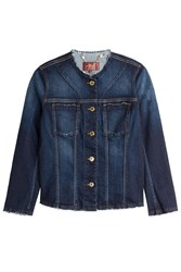 7 For All Mankind Seven For All Mankind Denim Jacket Blue