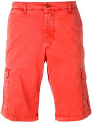 Briglia 1949 Cargo Shorts Men Cotton Polyester Spandex Elastane 35 Red