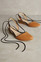 Faryl Robin Farylrobin Frida Slingbacks Honey
