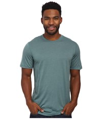 Smartwool Nts Micro 150 Tee Sea Pine Men's T Shirt Blue