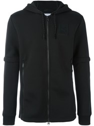 Puma Zip Up Hoodie Black