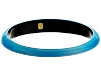 Alexis Bittar Tapered Bangle Bracelet Blue Opal Bracelet