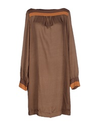 Kocca Short Dresses Brown