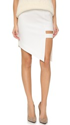 Mason By Michelle Mason Cage Skirt Ivory