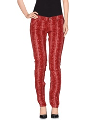 Htc Casual Pants Red