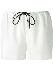 Alexander Wang Drawstring Shorts White