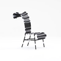 Moroso Sunny Chair Black And White