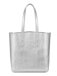 Aspinal Of London Essential Tote Silver