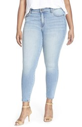 Plus Size Women's Cj By Cookie Johnson 'Wisdom' Stretch Ankle Skinny Jeans Duchess