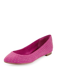 Splendid India Sueded Fabric Ballet Flat Lilac