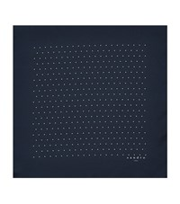 Sandro Dotted Pocket Square Blue