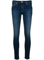 Ag Jeans Faded Slim Fit Blue